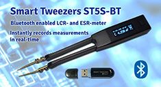 Smart Tweezers with Bluetooth capabilities